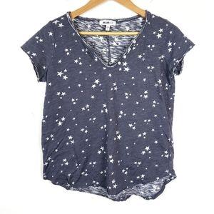 William Rast | Blue Stars Basic Tee Shirt Medium